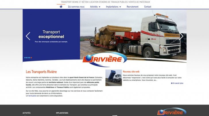 Riviere transports - screenshot